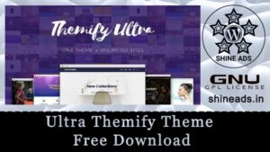 Ultra Themify Theme Free Download