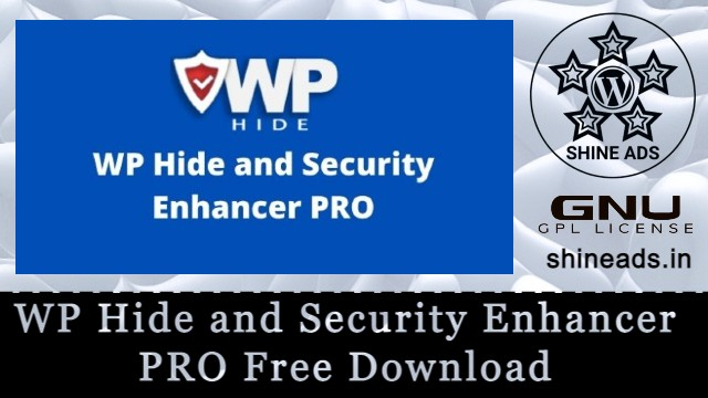 WP Hide and Security Enhancer PRO Free Download